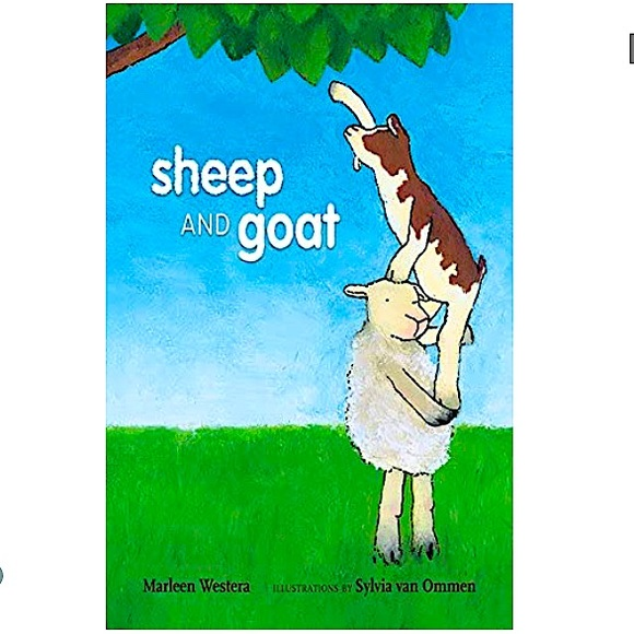 """🌈3/$20 Hardcover Book """"Sheep and Goat"""" M. Westera"""